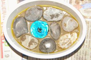 Seifenschalen DIY mit Glascabochon Die kleine Perlenwerkstatt