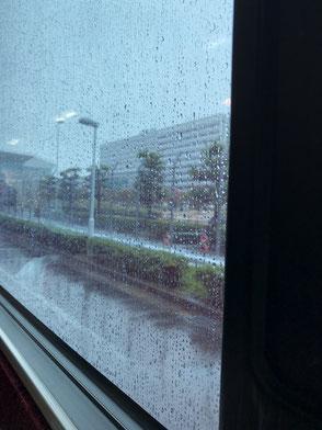 シンガポールエアライン臨時便 中部国際空港 台風21号