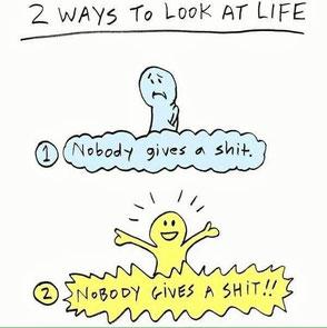 2 façons de voir la vie