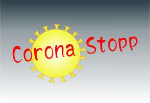 Darstellung eines Coronavirus