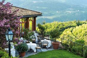 Gartenansicht © Romantik Hotel Turm