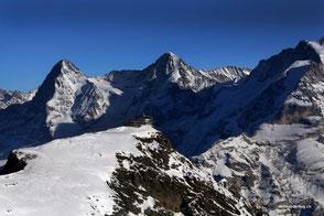 Jungfraujoch Rundflug mit Gletscherlandung