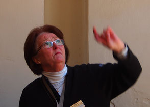 Frau Schirmer - erklärte alle Details sehr engagiert