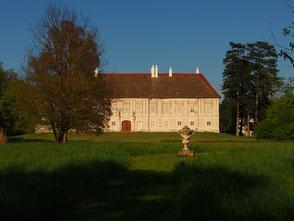 Süd-Ansicht des Schlosses