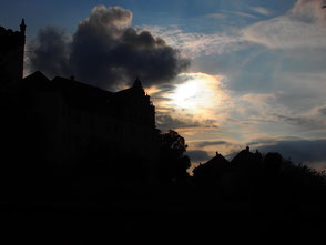 die Abendsonne sorgt für ein Traum-Licht