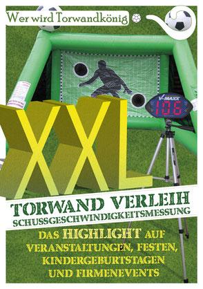 Torwand mieten Frankfurt Eventmodule Verleih Sandra Minnert Eventservice Torwandschießen