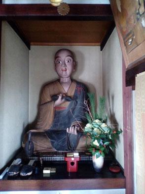 弘法大師座像