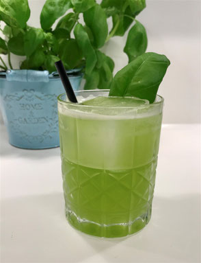 Cocktail Gin Basil Smash, Gin Basil Smash
