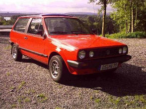Youngtimer VW Polo Steilheck