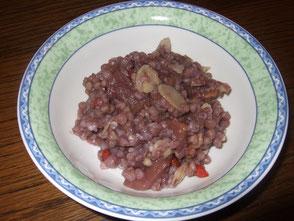 Foto: Buchweizenfrühstück aus meiner Rezeptmappe Warmes Frühstück & Schnelle Küche