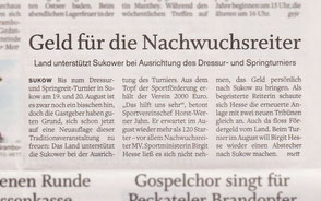 Quelle: Schweriner Volkszeitung
