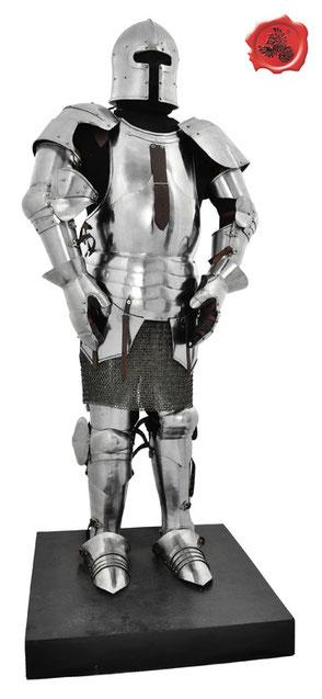 Armure milanaise complète sur pied support - Réf.:GDFB/AS/001