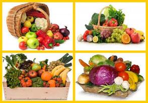 Cesta frutas y verduras Alimentación y Nutrición Herbolario Alquimista Arrecife Lanzarote