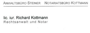 Notariatsbüro Kottmann Gewerbeverein Nottwil