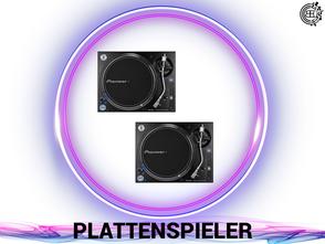 DJ, Eventtechnik, Ton, Video und Licht verleih.  Plattenspieler  buchen.