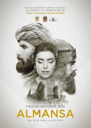 Programa y Cartel de las Fiestas Mayores de Almansa 2015 www.nuestrasfiestas.com