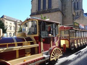 Le petit train de Brive la Gaillarde - Copyright Catherine Dubreuil