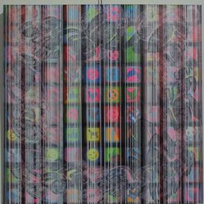 Paya Poyandeh, Sans titre, 120 x 120.