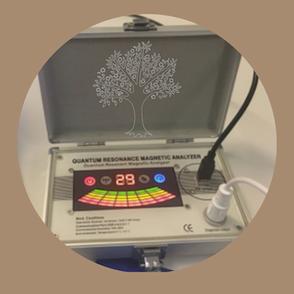 Quanten Resonanz, Analyser, Biofeedback