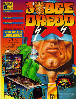 """Judge Dredd"" von Bally"