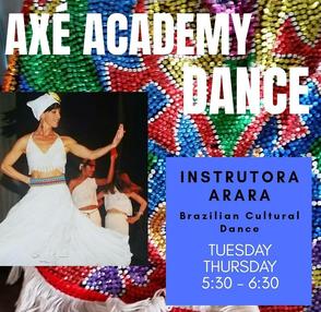 Afro-Brazilian Dance Classes - Grupo Axé Capoeira Kansas City