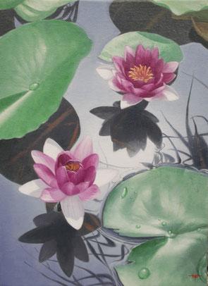 「片隅に生きる」 油彩・キャンバス F4 126,000円