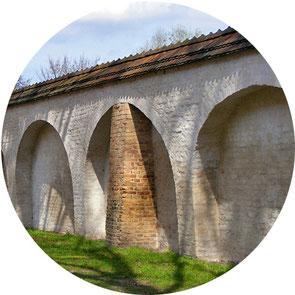 Rest der Potsdamer Stadtmauer