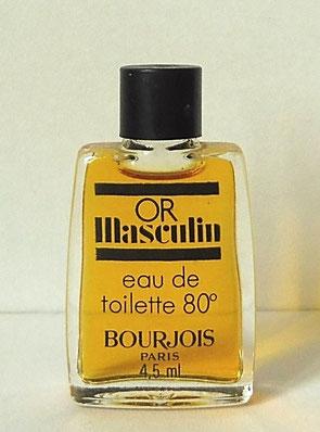 OR MASCULIN - EAU DE TOILETTE POUR HOMME 80°, 4,5 ML