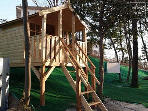木製物置、小屋、施工例