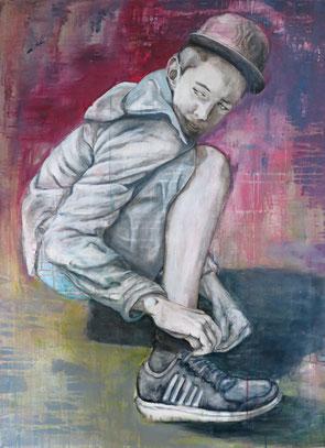 Kolya * Acryl auf Baumwolle * 80 x 110 cm * 2014