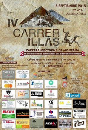 IV CARRER ILLAS NOCTURNA - Illas, 05-09-2015