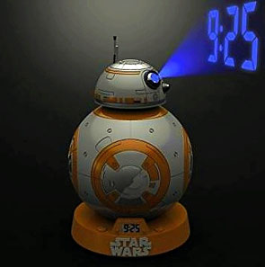 Star Wars Wecker BB-8 mit Projektion