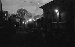 jerome devismes. les Grands Voisins à Paris la nuit