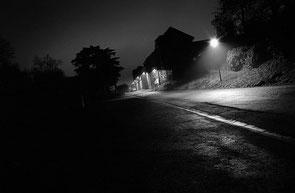 jerome devismes une vue de la rue de la ferme à Grignon