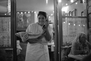 jeromedevismes. présentation d'un thon prêt à être cuisiné en Corse
