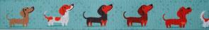 Borte Hunde 23mm, Halsband Hund