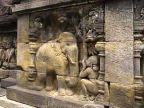 Relief Tempelanlage Borobudur, Java