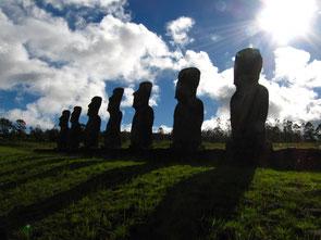 Ahu Akivi, Rapa Nui (Osterinsel)