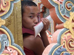 tibetischer Mönch