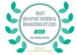 StudioSaf: best graphic design & branding studio 2020 Benelux Enterprise Awards