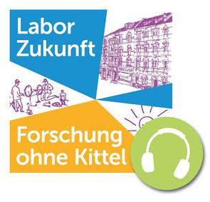 """Podcast """"Labor Zukunft - Forschung ohne Kittel"""""""