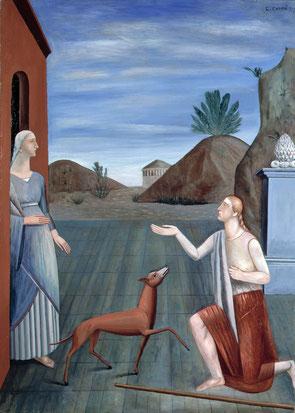 Carlo Carrà - Le Figlie di Loth