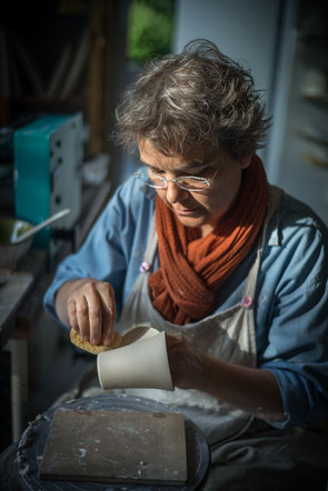 Atelier de poterie de Candes Saint Martin