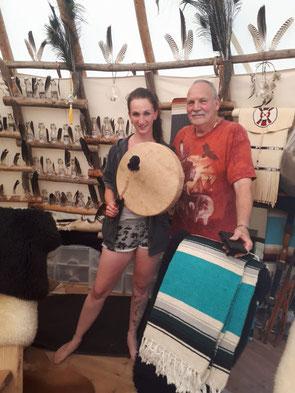 Trommel Workshop in Wolhusen mit Schamane taneska werny