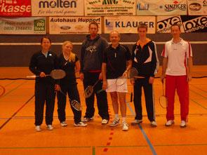 3.Mannschaft v.l.: Jessica Bleibtreu, Michaela Ritter, Patrick Bleibtreu, Peter Röder, Christian Kaerkes und Jan Stratmann