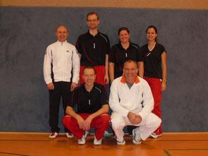 2.Mannschaft v.l.: Karsten Jörgens, Stephan Röder, Martin Raulfs, Nadine Torbeck, Andreas Rottmann und Ina Backhaus