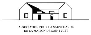 Logo de l'Association pour la sauvegarde de la Maison de Saint-Just