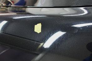 996ターボフェンダーのウォータースポット