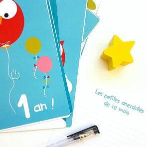 Faire-part de naissance, invitation pour anniversaire et carterie enfant