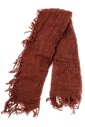 Fringe Oblong Pattern scarf